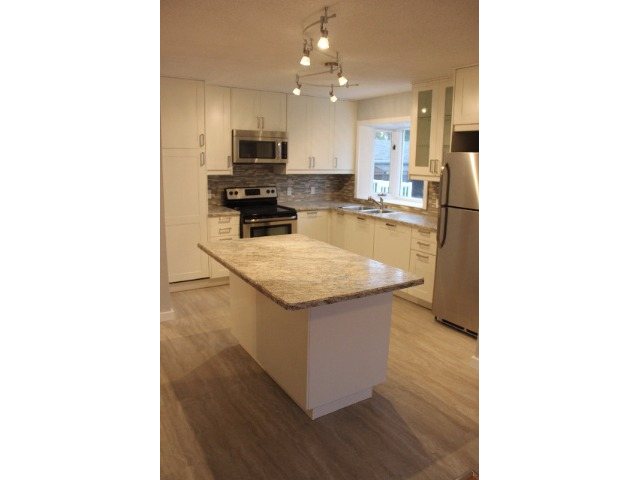 Kitchen, open to dining room. Great entertaining space.