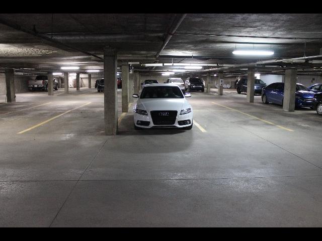 Secure, heated underground parking stall