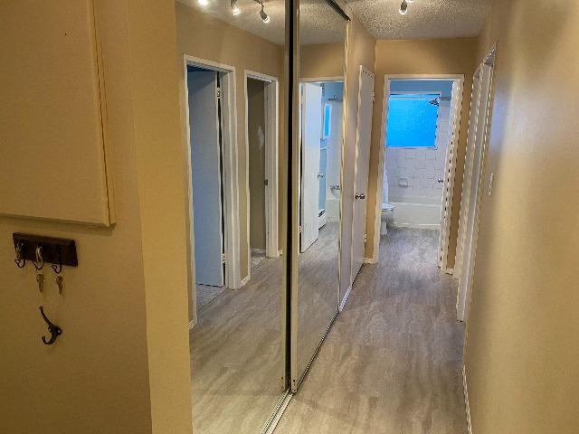 Huge entryway closet plus additional linen storage